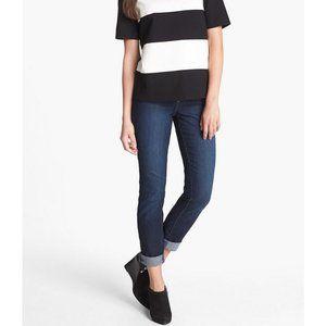 NYDJ Alina Dark Hollywood Blue Skinny Jeans NWT